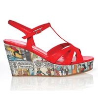 T-bar cartoon wedge