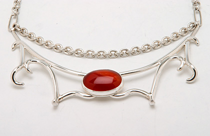 Barbed carnelian old boartusk