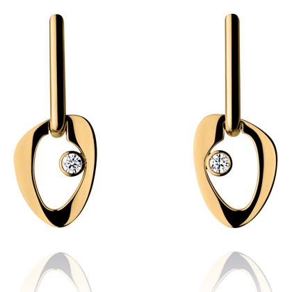 LINA Earrings by Georg Jensen