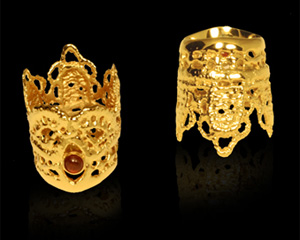 Saya Hibino Jewelry - crown rings