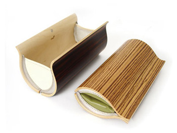 Wooden Panels Are Constructed In Sweden And Formed From Birch Zebra Or Ebony Veneers Depending On The Purse