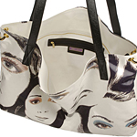 Polly Glazed Canvas Handbag by Jimmy Choo