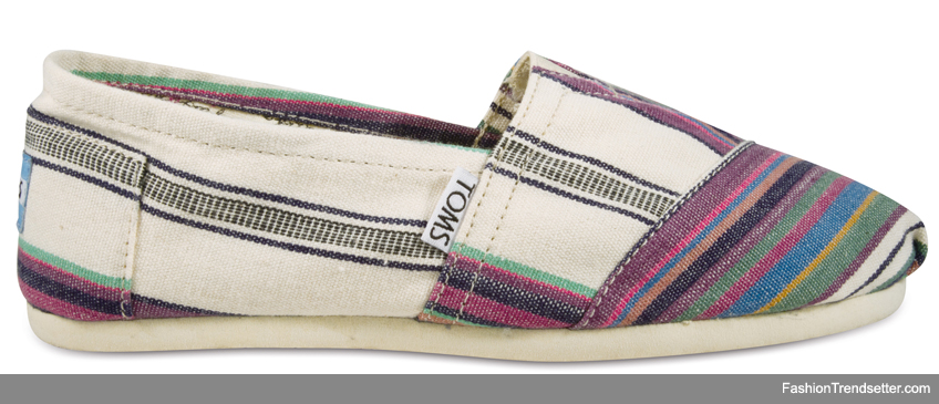 Woven Natural Stripe Women's Classics