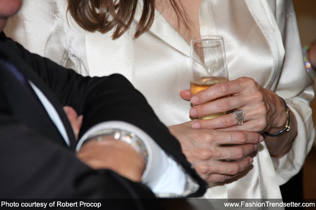 Angelina Jolie's Engagement Ring by Robert Procop