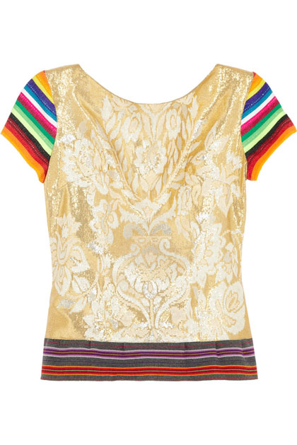 Mario Testino for MATE by One Vintage Arequipa Top.