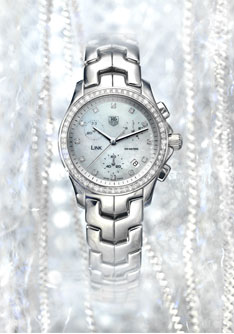 Link Chronograph Lady Diamonds