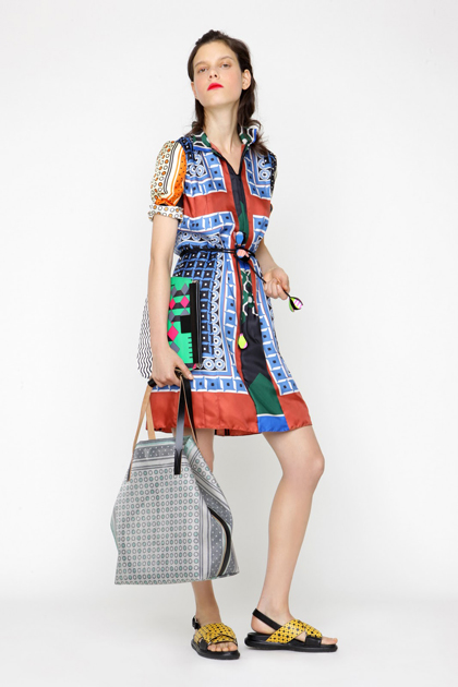 Marni Foulard Collection for Summer 2012