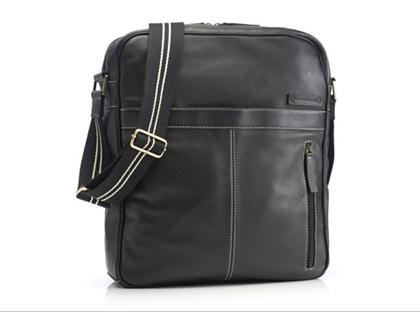 "Marshall Bergman 13"" Theo Leather Bag"
