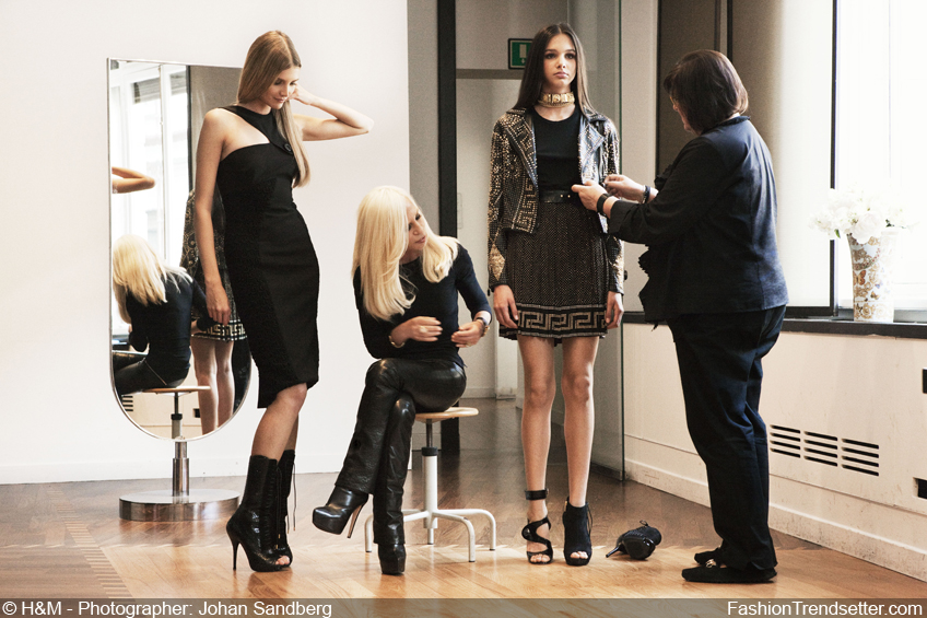 Versace to Design Iconic Collection for H&M This Fall | Fashion Trendsetter