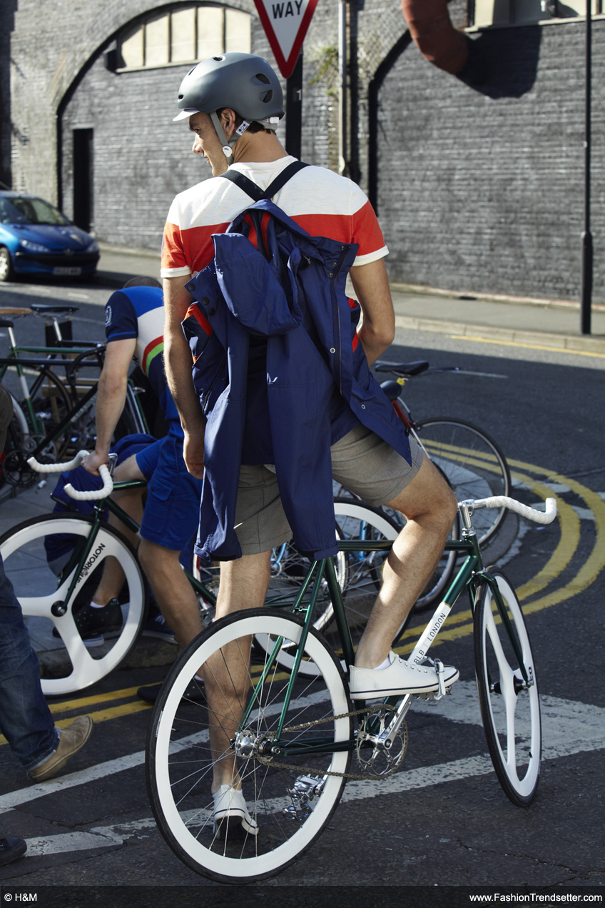 H&M for Brick Lane Bikes: A Men's Collection Inspired by the Urban Cycling Scene