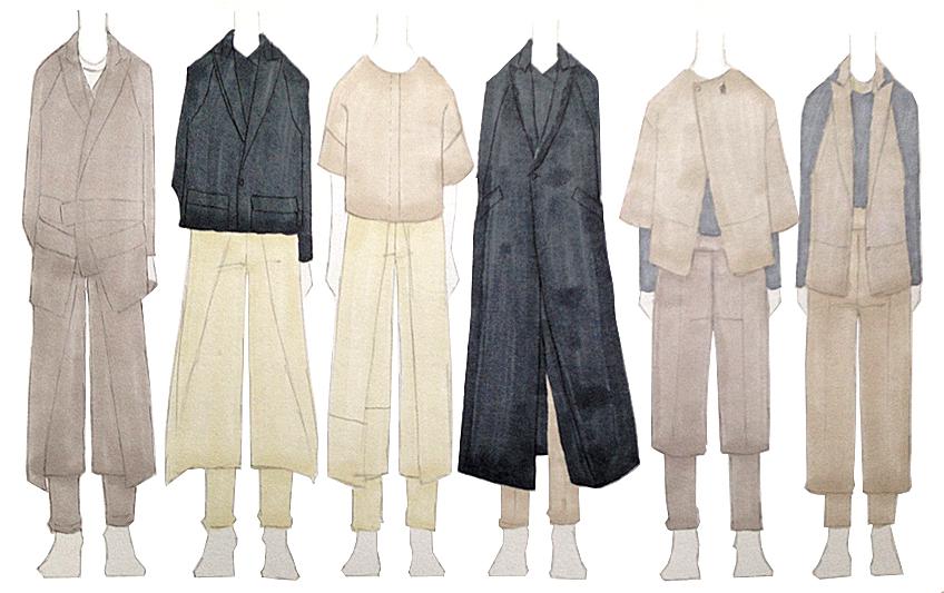 Fashion Designs by Didvik Kuang, B.F.A. Menswear Design