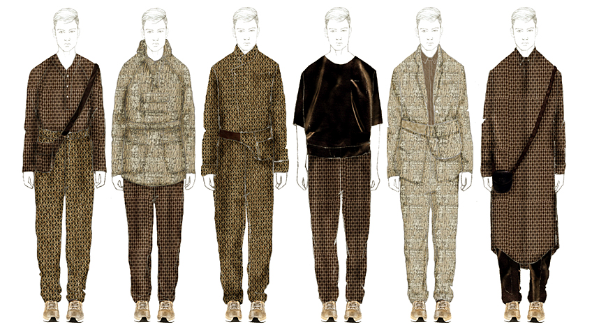 Fashion Designs by Leslie Dilloway, B.F.A. Menswear Design