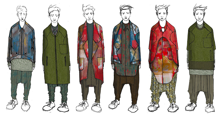 Fashion Designs by Ryan Morar, B.F.A. Menswear Design