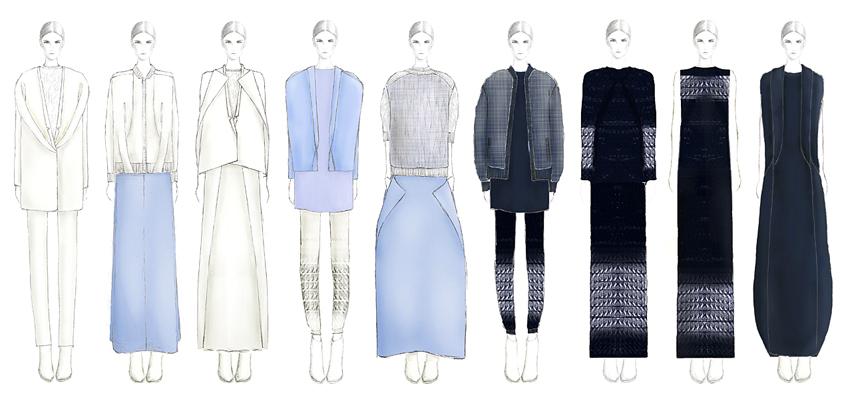 Fashion Designs by Shanshan Bai, M.F.A. Fashion Design