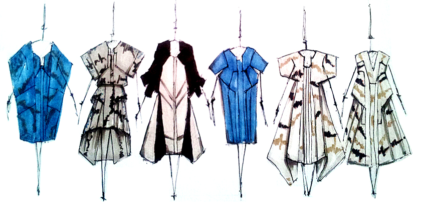 Fashion Designs by Vicken Derderian, M.F.A. Fashion Design,