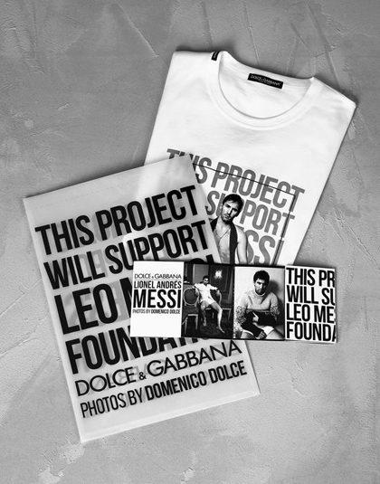 Lionel Messi Limited Edition T-Shirts by Dolce&Gabbana