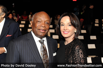 Mayor Willie Lewis Brown & Dr. Elisa Stephens