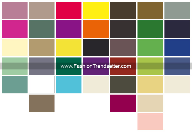 Le Cuir A Paris - 2009 Summer Color Trends