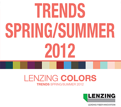 Lenzing Spring/Summer 2012 Color Trends
