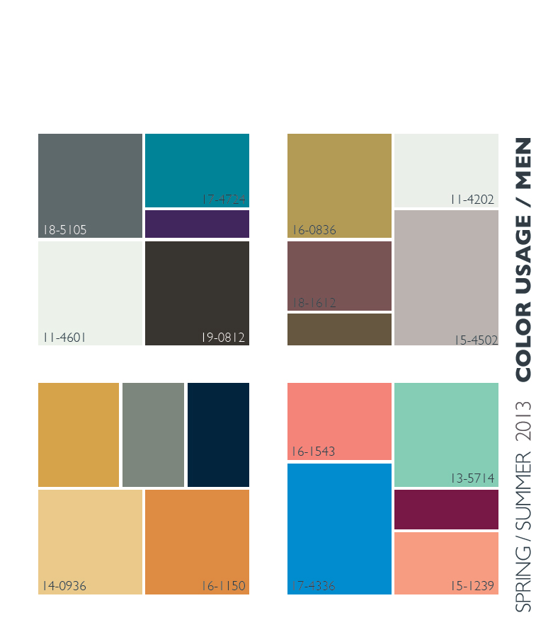 Lenzing Spring/Summer 2013 Color Trends
