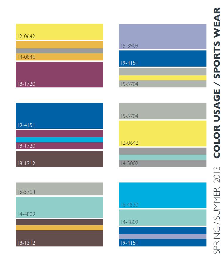 Lenzing Springsummer 2013 Color Trends Fashion Trendsetter Ask Home Design