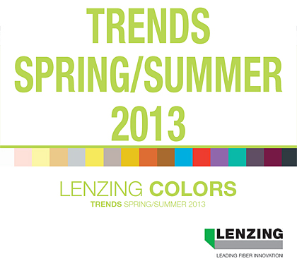 DOWNLOAD Lenzing Spring/Summer 2013 Color Trends |