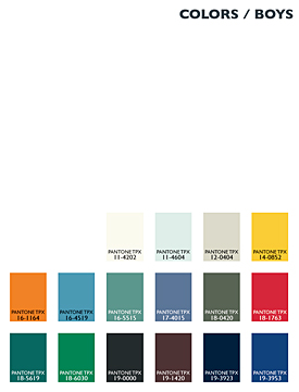 Lenzing Color Trends Autumn/Winter 2014/15 - Kids - Boys
