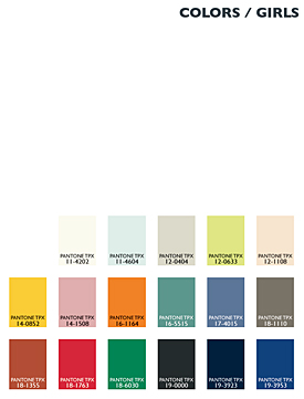 Lenzing Color Trends Autumn/Winter 2014/15 - Kids - Girls