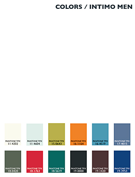 Lenzing Color Trends Autumn/Winter 2014/15 - Mens - Underwear/Intimate Apparel
