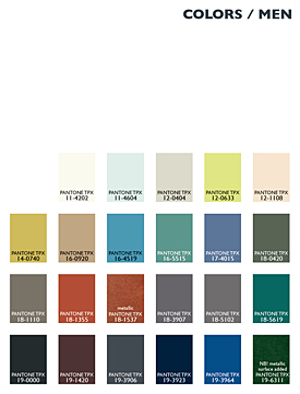 Lenzing Color Trends Autumn/Winter 2014/15 - Menswear