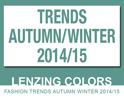 Lenzing Color Trends Autumn/Winter 2014/15