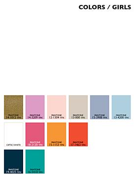 Lenzing Color Trends Spring/Summer 2015 - Kids - Girls
