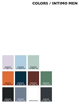 Lenzing Color Trends Spring/Summer 2015 - Mens - Underwear/Intimate Apparel