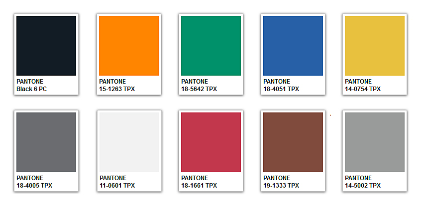 ISPO Textrend Fall/Winter 2015/2016 Color Trends #colortrends # ...
