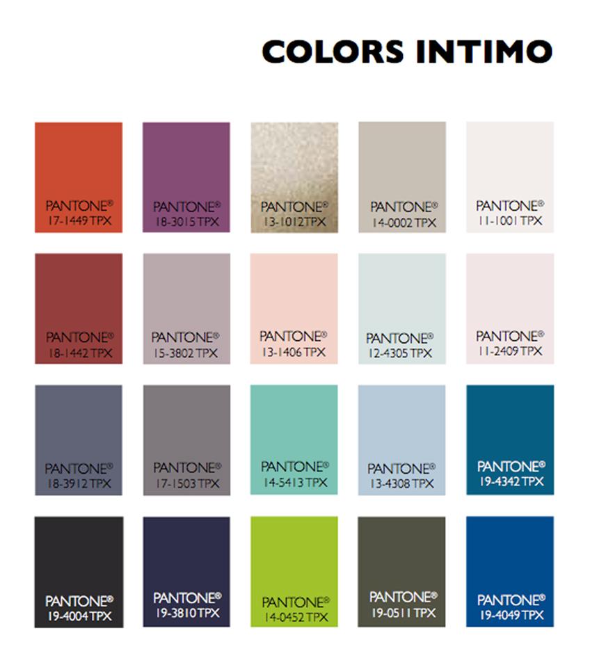 New Paint Color Trends: Lenzing Color Trends Autumn/Winter 2015/2016 #color