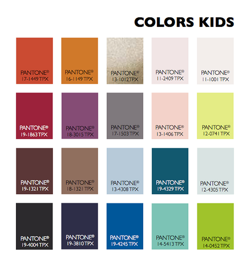 2015 2016 Fashion Color Trends