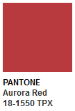 pantone aurora red - photo #13