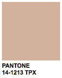 PANTONE 14-1213 Toasted Almond
