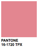 PANTONE 16-1720 Strawberry Ice