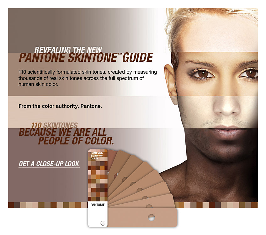 Revealing the New PANTONE SkinTone™ Guide