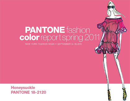 Pantone Fashion Color Report Spring 2011 | Fashion Trendsetter