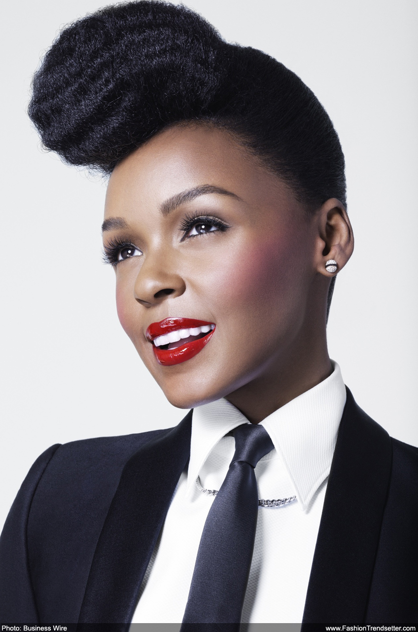 Innovative Singer, Songwriter, & Time Traveler Janelle Monae Sets Out to Inspire Beauty Style Statements as Newest COVERGIRL