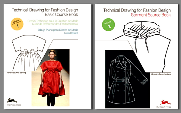 Technical Drawing for Fashion Design Books