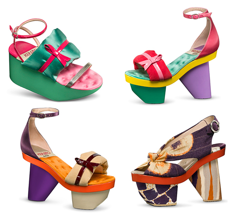 Kenzo Spring Summer 2011 Shoes   Color Decoder