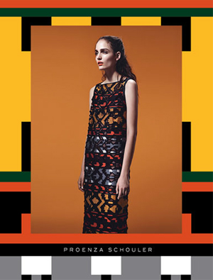 Proenza Schouler Fall 2011 Ad Campaign Colors