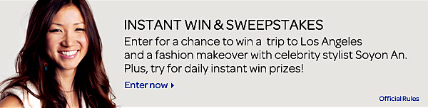 SWEEPSTAKES and INSTANT WIN