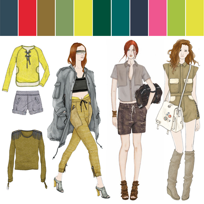 Ciff Spring Summer 2012 Fashion Color Trends Fashion Trendsetter