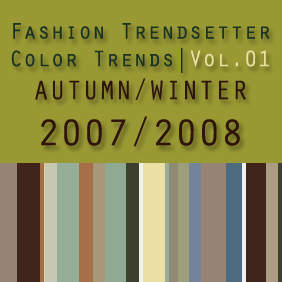 Fashion Trendsetter Color Trends Vol.01 Autumn/Winter 2007/2008