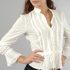 Tocca Smocked Blouse