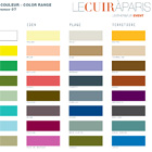 LE CUIR A PARIS Color Card for Spring - Summer 2007